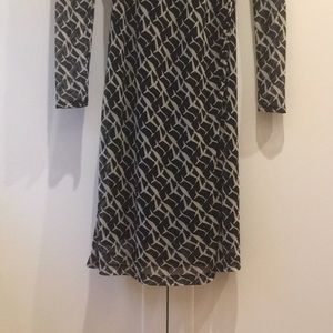 Kenneth Cole Dresses - Kenneth Cole Black and White Silk Dress
